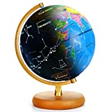 LED Constellation Globe for Kids - 3 in 1 Educational Toys, Light Up World Globe, Constellation Globe and...
