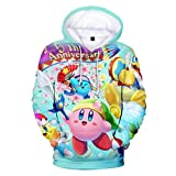 WZMLSJY Kirby Sudadera con capucha para mujeres/hombres/niños/niñas