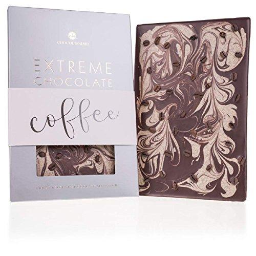 Extreme XXL - Espresso - Zartbitter - und weiße Schokolade mit Kaffee | 350 g | Riesen groß | Valentinstag | Geschenkidee | Männer | Frauen | Geburtstag | Mann | Frau | Weihnachtsgeschenk | Kinder