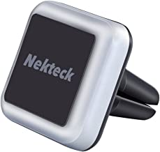 Nekteck Car Mount, Universal Air Vent Magnetic Car Mount Holder for iPhone X/8/7 6S/ 6 6 Plus, SE, Galaxy S9/S8 S6/S7 Note 9 8 5, LG G7 G6, Pixel 3/2 XL Nexus 6P 5X More