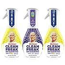 Mr. Clean Multi Surface Cleaner, Clean Freak Spray for Bathroom & Kitchen Cleaner, Lavender & Lemon Scent, 3 Count (16 fl oz Each)