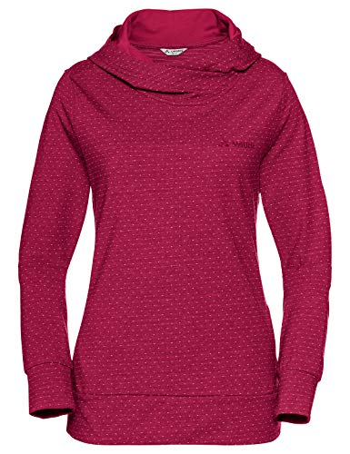 VAUDE Damen Pullover Tuenno, crimson red, 38, 400329770380