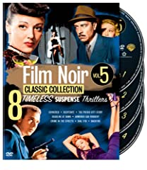 FILM NOIR CLASSICS COLLECTION: VOL 5 (DVD MOVIE)