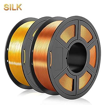 Silk PLA Filament 1.75mm, 3D Printer Filament P...