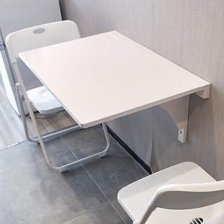 Table Murale Rabattable, Table à Manger Table Pliante Murale, Table D'étude de Loisirs Multifonctionnelle, Accessoires Par...
