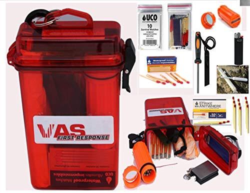 VAS Fire Box - - Emergency Fire Starting Kit in a Waterproof Case  Fire Starters   UCO Survival,...