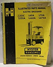 Parts Book And Instruction Manual For Hyster Electric Spacesaver