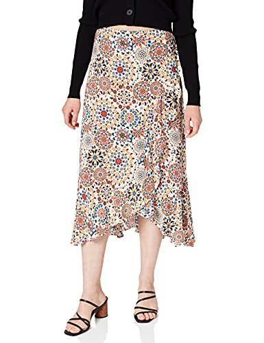 Desigual Fal Bora Swimwear Cover Up, Blanco, XL para Mujer