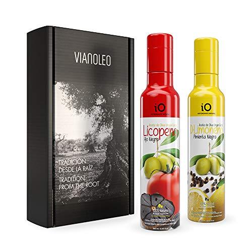 iO Aceite de Oliva Virgen Extra Enriquecido. Aceite de Oliva Español Gourmet....