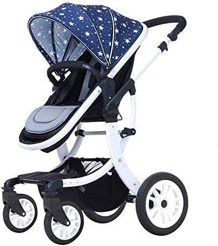 Best Prices! JINHH Strollers, Comfortable and Durable Baby Stroller Can Sit and Lie Down to Fold The...