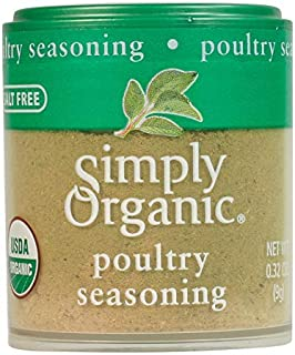 Simply Organic Poultry Seasoning, Certified Organic | 0.32 oz