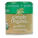 Simply Organic Poultry Seasoning, Certified Organic | 0.32 oz