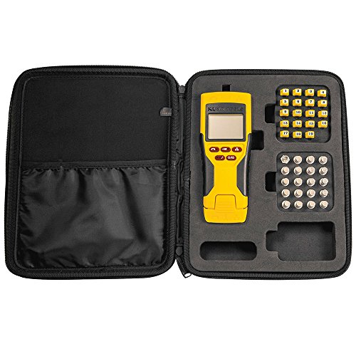 Klein Tools Network Tester with Remotes Adaptor and Carrying Case