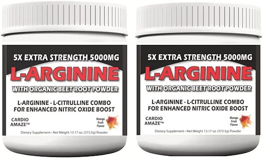 5X Max 83% OFF Extra Strength L-Arginine 5000mg Muscle Max 44% OFF Workout Build Powde