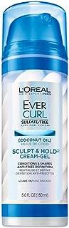 L'Oréal Paris EverCurl Sulfate Free Sculpt & Hold Cream-Gel, 5 fl. oz.