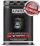 ALPHATIER BEASTMODE BOOSTER XXL - 500g - Pre-Workout Pump-Booster mit Koffein, Citrullin, L-Arginin,...
