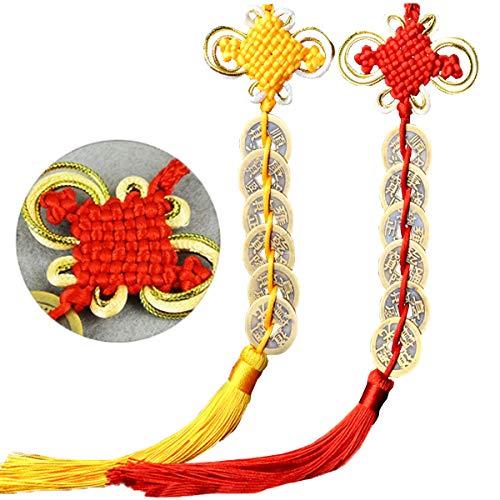 Mengger Monedas Chinas Antiguas Feng Shui I Ching Abalorio d