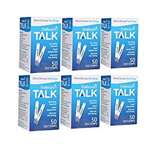 buy Embrace Talk Test Strips Bundle 300 Ct Blood Test Strips