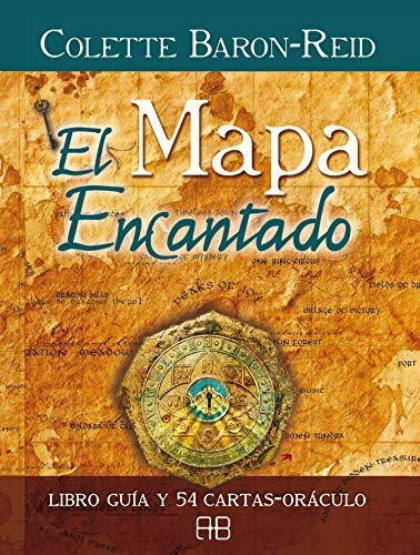 El mapa encantado (Libro guia y 54 cartas- oráculo): Libro guía y 54 cartas-oráculo