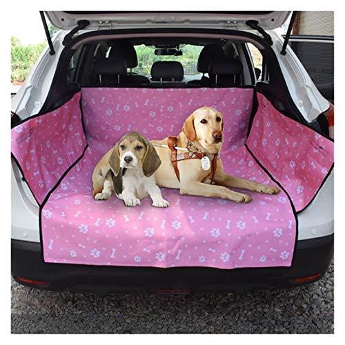 Asiento Perro Coche Cubierta de asiento de coche for perros Impermeable Perro for mascotas Mationera de viaje Malla de perro Portador de perro Hamaca de coche Protector de cojín con cremallera y bolsi