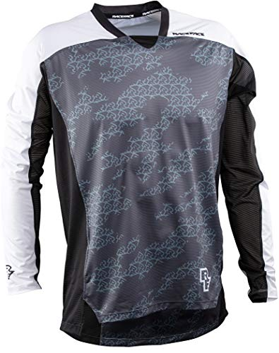 Race Face Diffuse LS Jersey Homme noir Taille L 2020 Bike Jersey Manches Longues