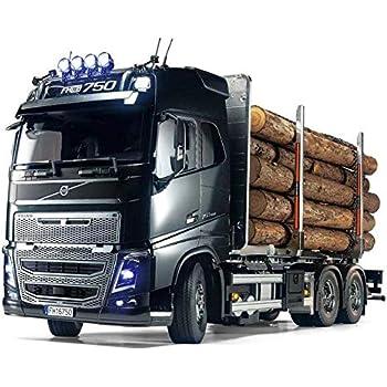 タミヤ 1/14 電動RCビッグトラックシリーズ No.60 ボルボ FH16 グローブトロッター750 6x4 ティンバートラック 56360