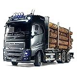 Tamiya 300056360 56360-1 Volvo FH16 Porteur de Bois RC Truck Télécommande Camion Modèle Échelle 1:14 Kit de Construction Camion Non laqué