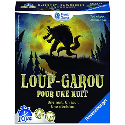 Ravensburger- Loup Garou, 26681, Multicolore