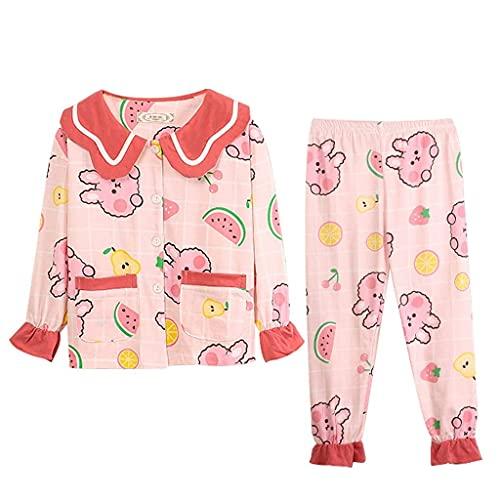 Meisjes Pyjama Leuke Thuis Kleding voor Meisjes Herfst en Winter Vrouwen Pyjama Set Moeder en Dochter Pyjama Nachtkleding