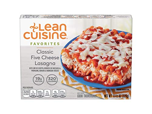 Nestle Stouffers Lean Cuisine Classic Five Cheese Lasagna, 11.5 Ounce -- 12 per case.