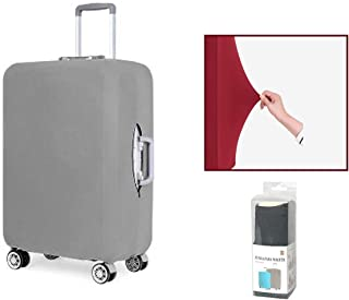Urban Camouflage Travel Luggage Cover Suitcase Protector Washable Zipper Baggage Cover