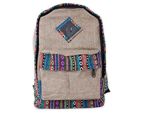 5. DSstyles mochila Vendimia estilo casual - La mochilas para las chicos hippie