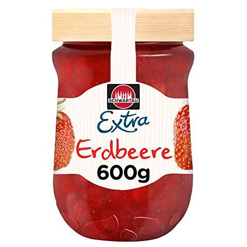 Schwartau Extra Erdbeere, Konfitüre, 600 g