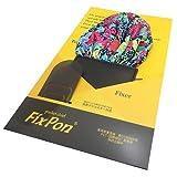Fix Pon ポケットチーフ 丸型 カラフル フラワー DSCF1675