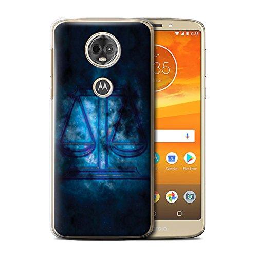 Stuff4 telefoonhoesje/hoes voor Motorola Moto E5 Plus 2018 / Weegschaal/Schaal Design/Zodiac Star Sign Collection