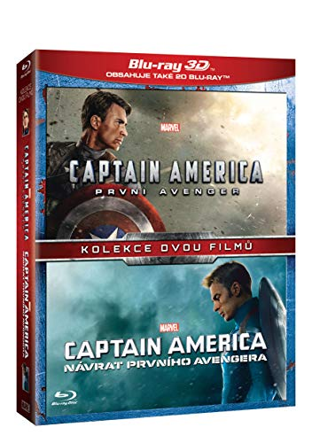 Captain America Kolekce 1.-2. 4bd (3d+2d) (Captain America: The First Avenger + Captain America: The Winter Soldier) (Versión checa)