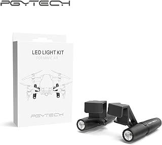 PGY TECH P-UN-002 LED Light Kit for Mavic AIR, Black