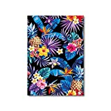 Imborrable Hawaiano - Cuaderno para zurdos, 144 páginas, A5, 14.8 x 21 cm