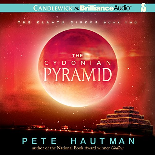 The Cydonian Pyramid audiobook cover art