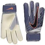 Nike NK GK MATCH-SU19 - Guanti da calcio da uomo, colore: Blu/Argento metallizzato/Hyper Crimson/Nero