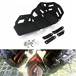 COPART Motorcycle Skid Plate Bash Plate Engine Guard Protection for Kawasaki Versys 650 KLE650 2015 2016 2017