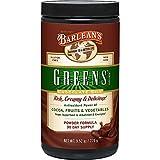 Barlean's Chocolate Silk Greens Powder with Rich Chocolate Taste and Antioxidants - Vegan, Non GMO, Gluten Free - 9.52-Ounce