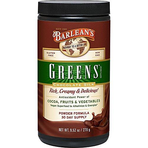Barlean's Organic Oils Greens, Chocolate Silk