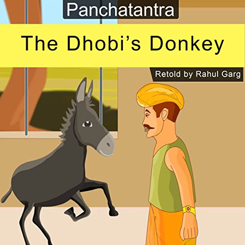 The Dhobi's Donkey audiobook cover art