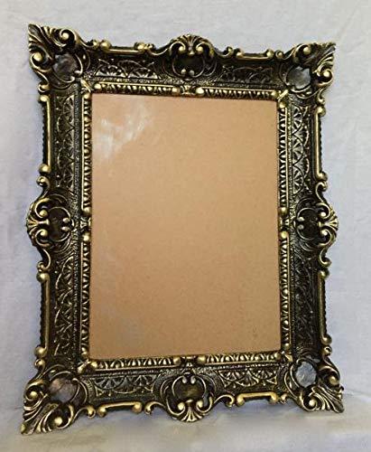 Artissimo Marcos de Fotos barrocos de Color Negro y Dorado, 56 x 46 cm, Marco de Fotos Antiguo de 30 x 40 cm, 3049