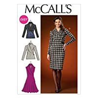 McCall's Patterns M7016 Misses' Tops and Dresses, ZZ (LRG-XLG-XXL) by McCall's Patterns