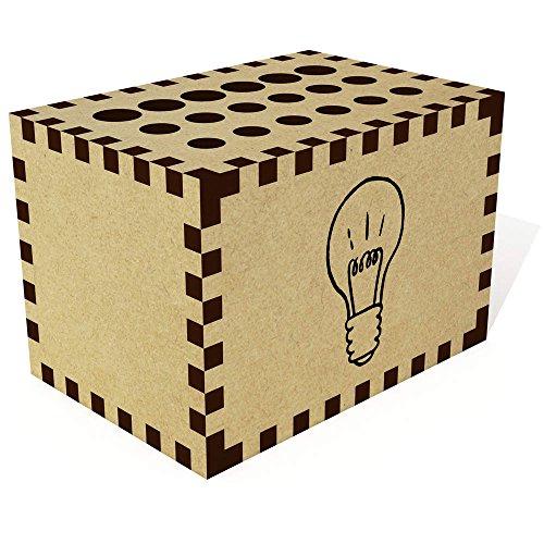 Azeeda 'Glühbirne' Bleistift Block / Halter (PB00011043)
