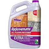 floor polish wood - Rejuvenate All Floors Restorer and Polish Fills in Scratches Protects & Restores Shine No Sanding Required (128 oz)