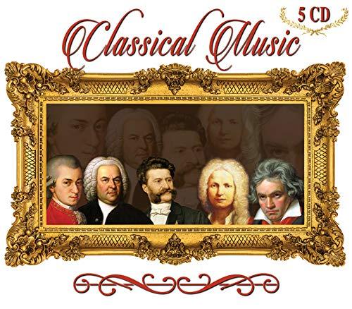 5 CD Classical Music Beethoven, Bach, Vivaldi, Mozart, Strauss