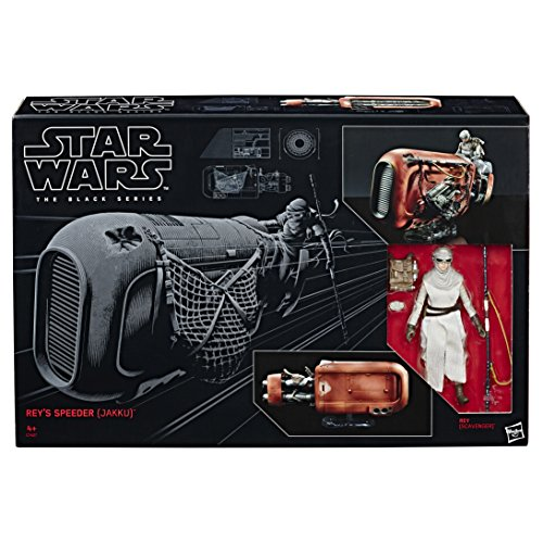 Star Wars Rey's Figura Rey con Speeder Jakku (Hasbro C1427EU4)